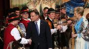 Prezydent Andrzej Duda na koncercie dudziarzy w Zakopanem
