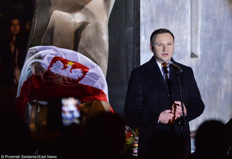 Prezydent Andrzej Duda na obchodach Grudnia '70 w Gdyni /Przemek Świderski /East News