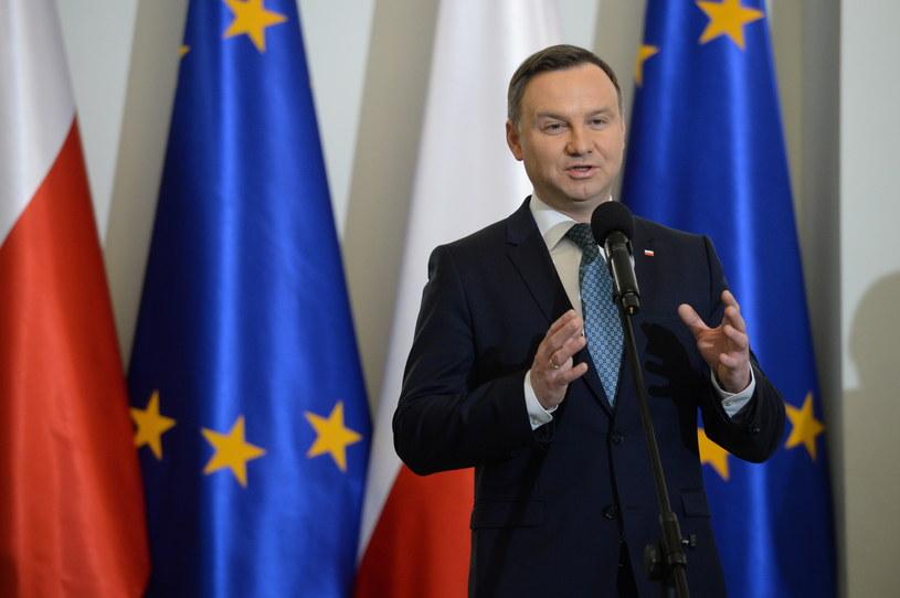 """Prezydent Andrzej Duda """"nie uważa swojej misji za zakończoną"""" /Jacek Turczyk /PAP"""