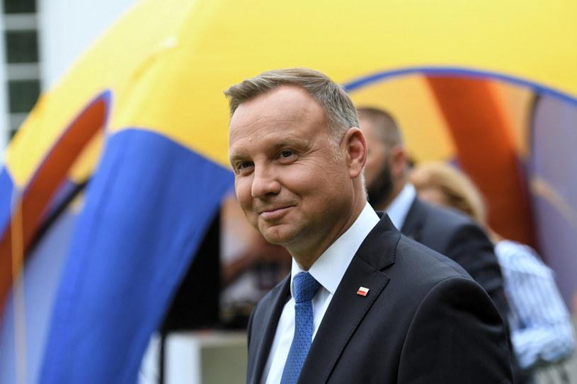 Prezydent Andrzej Duda odpowiadał na pytania internautów /Piotr Nowak /PAP