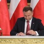 Prezydent Andrzej Duda podpisał Konstytucję dla Nauki