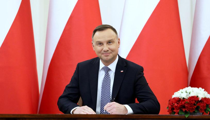 Prezydent Andrzej Duda podpisał nowelizację ustaw sądowych /Piotr Molecki /East News