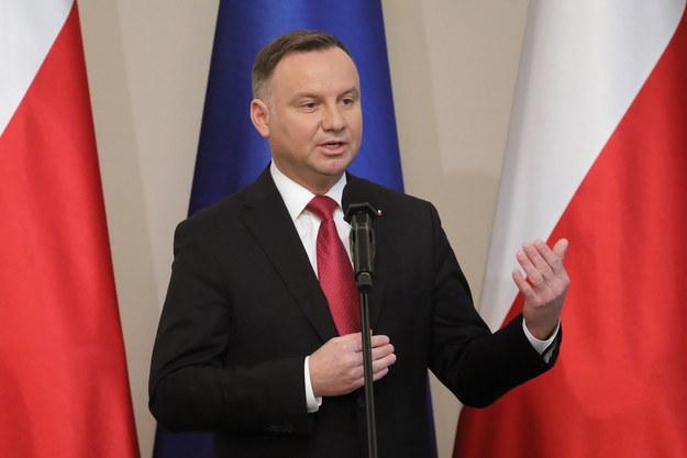 Prezydent Andrzej Duda prawdopodobnie nie pojedzie do Izraela /Paweł Supernak /PAP/EPA