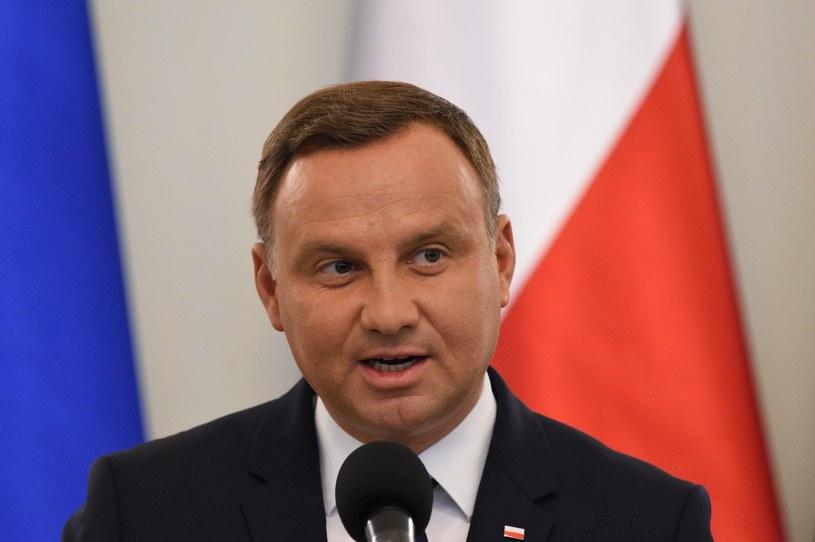 Prezydent Andrzej Duda spotka się w środę 13 września z przedstawicielami wszystkich klubów parlamentarnych /Fot. Jacek Domiński /Reporter