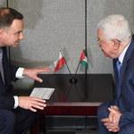 Prezydent Andrzej Duda spotkał się prezydentem Autonomii Palestyńskiej
