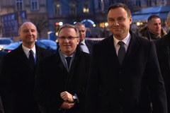 Prezydent Andrzej Duda spotkał się z amerykańskimi senatorami