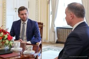 Prezydent Andrzej Duda spotkał się z kandydatem na ministra sportu