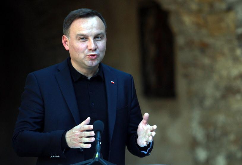 Prezydent Andrzej Duda: Ustawa budziła wątpliwości /Grzegorz Momot /PAP