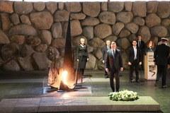 Prezydent Andrzej Duda w Instytucie Yad Vashem