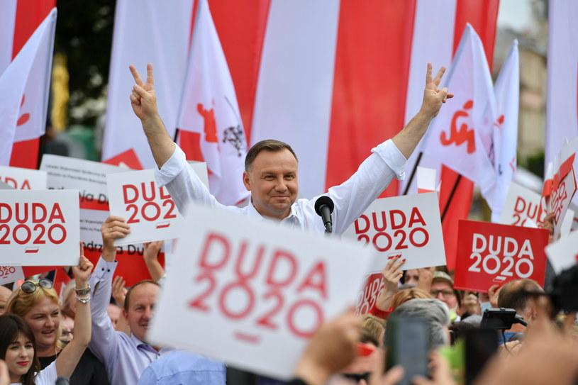 Prezydent Andrzej Duda w Lublinie /PAP/Wojtek Jargiło /PAP