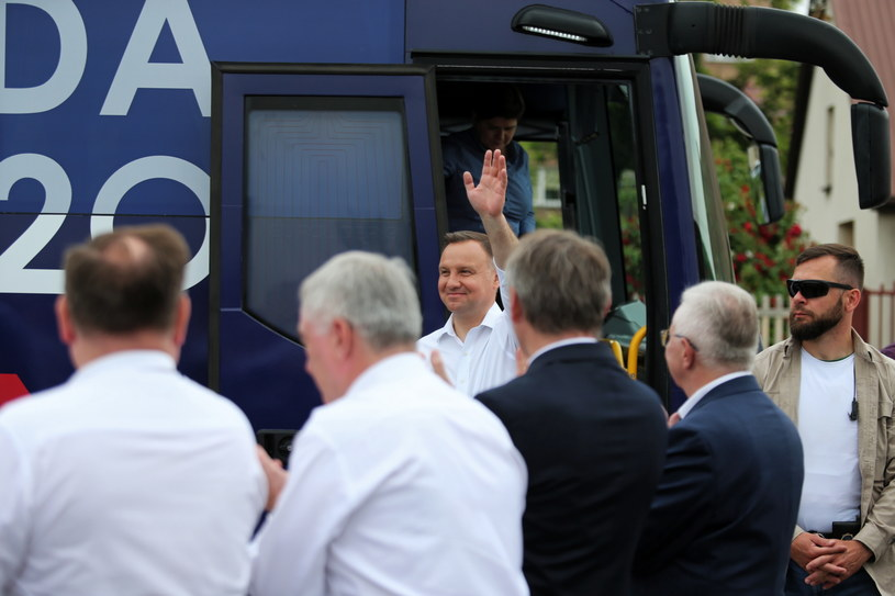 Prezydent Andrzej Duda w Pińczowie / Andrzej Grygiel    /PAP