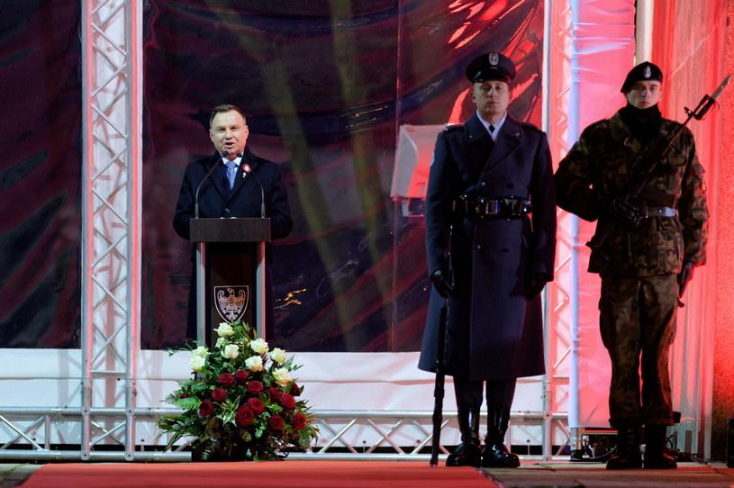 Prezydent Andrzej Duda w Poznaniu /Jakub Kaczmarczyk /PAP