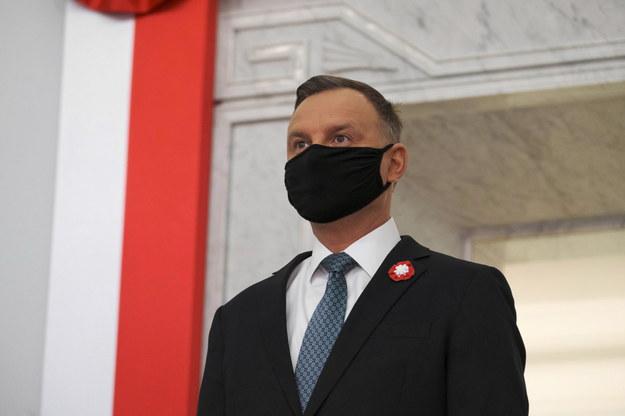 Prezydent Andrzej Duda w Sejmie /Mateusz Marek /PAP