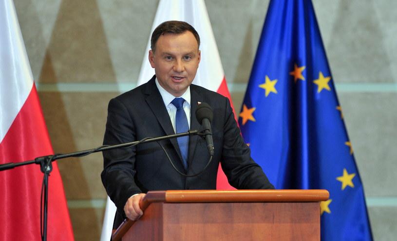 Prezydent Andrzej Duda w Szczecinie /PAP/Marcin Bielecki /PAP