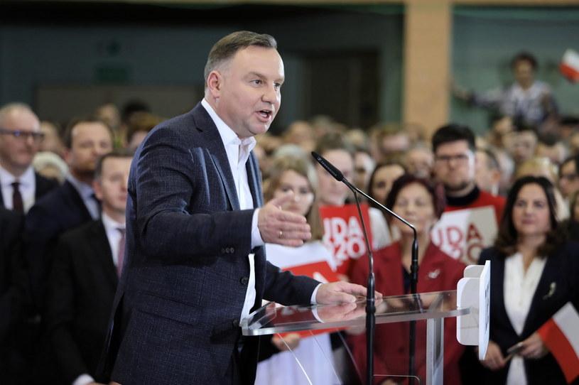Prezydent Andrzej Duda w Turku / Leszek Szymański    /PAP
