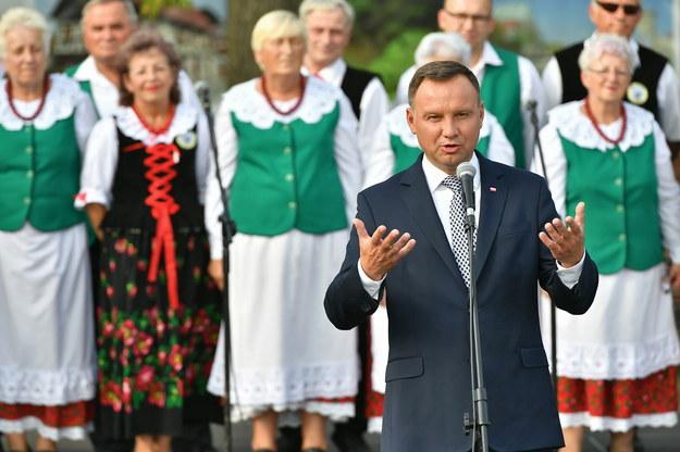 Prezydent Andrzej Duda w Zgorzelcu / Maciej Kulczyński    /PAP