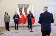 Prezydent Andrzej Duda wręczył dymisję Jarosławowi Gowinowi. Zaskakująca deklaracja