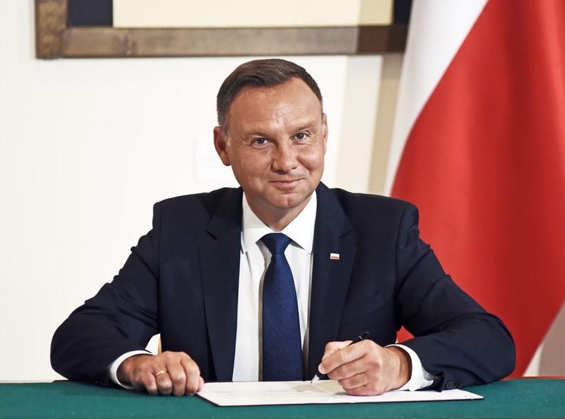 Prezydent Andrzej Duda zasługuje na ocenę niedostateczną według 24 proc. respondentów /Fot. Marek Lasyk/REPORTER /Reporter