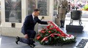 Prezydent Andrzej Duda złożył wieńce