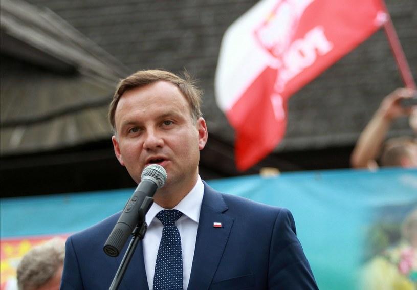 Prezydent Andrzej Duda /Grzegorz Momot /PAP