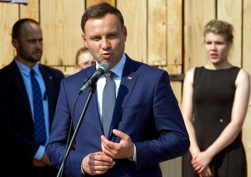 Prezydent Andrzej Duda /Michał Walczak /PAP