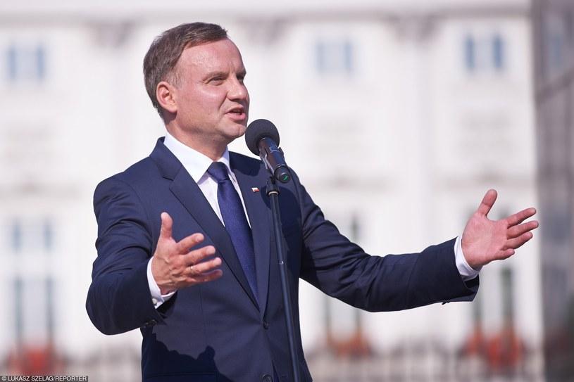 Prezydent Andrzej Duda /Łukasz Szeląg /Reporter
