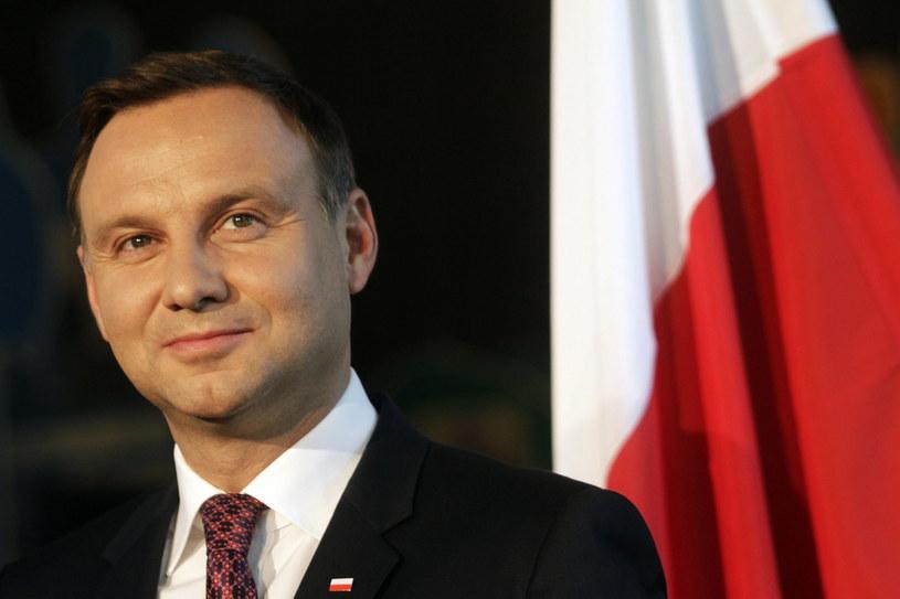 Prezydent Andrzej Duda /VALDA KALNINA /PAP