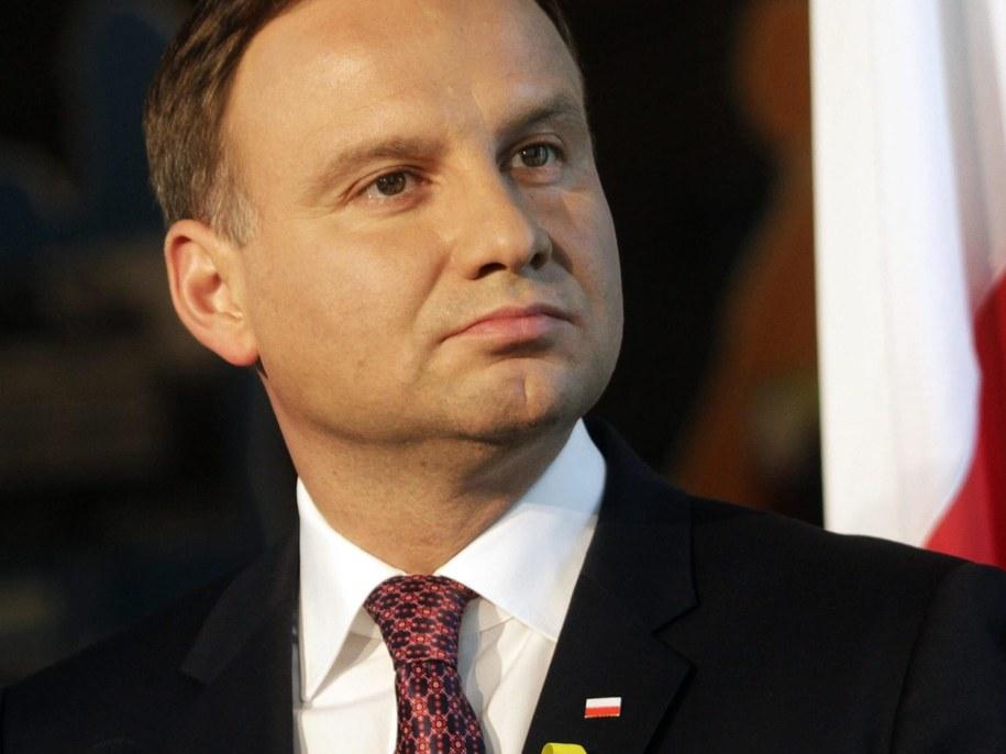 Prezydent Andrzej Duda /VALDA KALNINA /PAP/EPA