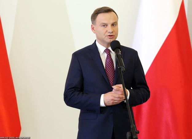 Prezydent Andrzej Duda /Mariusz Grzelak/REPORTER /East News