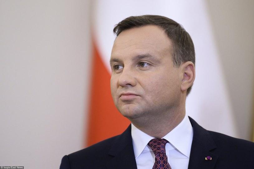 Prezydent Andrzej Duda /Frederic Sierakowski / Isopix /East News