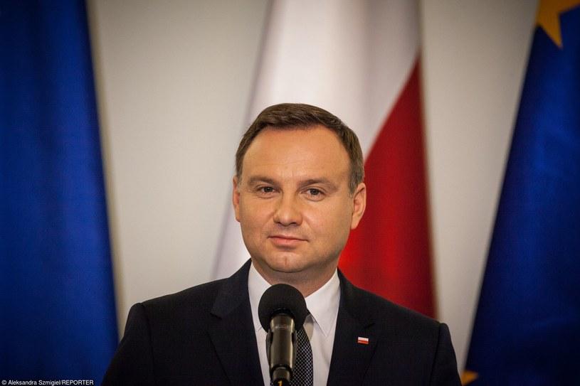Prezydent Andrzej Duda /Aleksandra Szmigiel/REPORTER /East News
