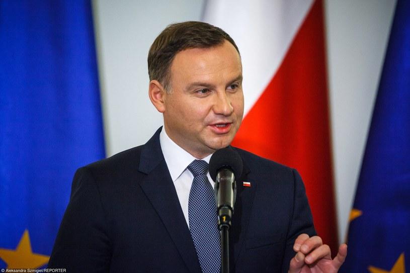 Prezydent Andrzej Duda /Aleksandra Szmigiel-Wiśniewska /Reporter