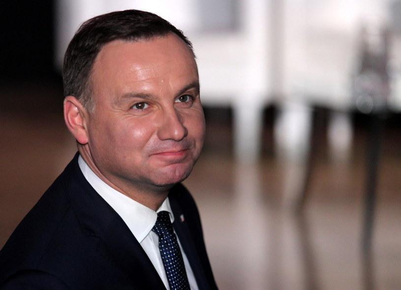 Prezydent Andrzej Duda /Andrzej Grygiel /PAP