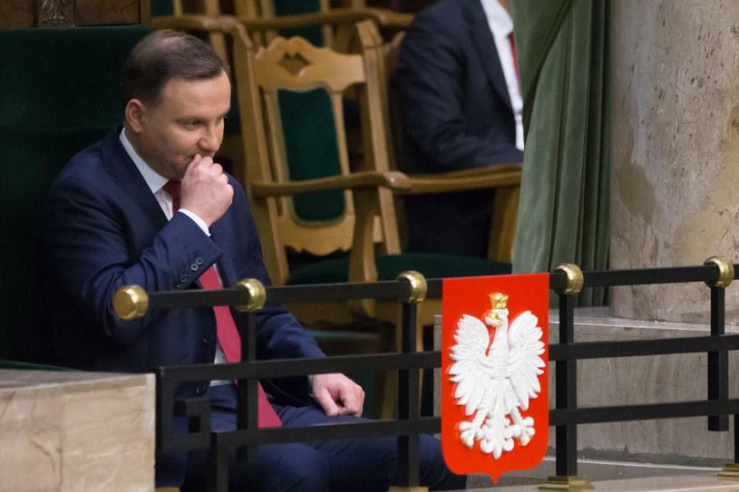 Prezydent Andrzej Duda /Krystian Maj /Agencja FORUM