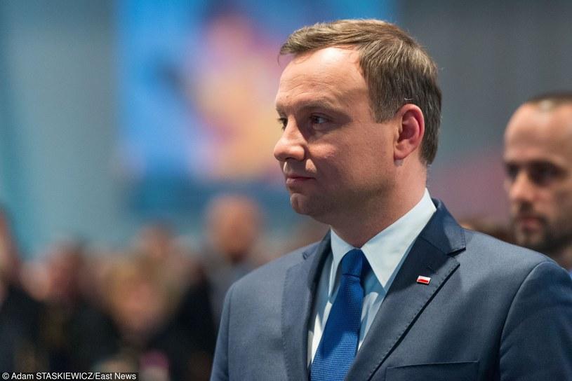Prezydent Andrzej Duda /Adam Staśkiewicz /East News