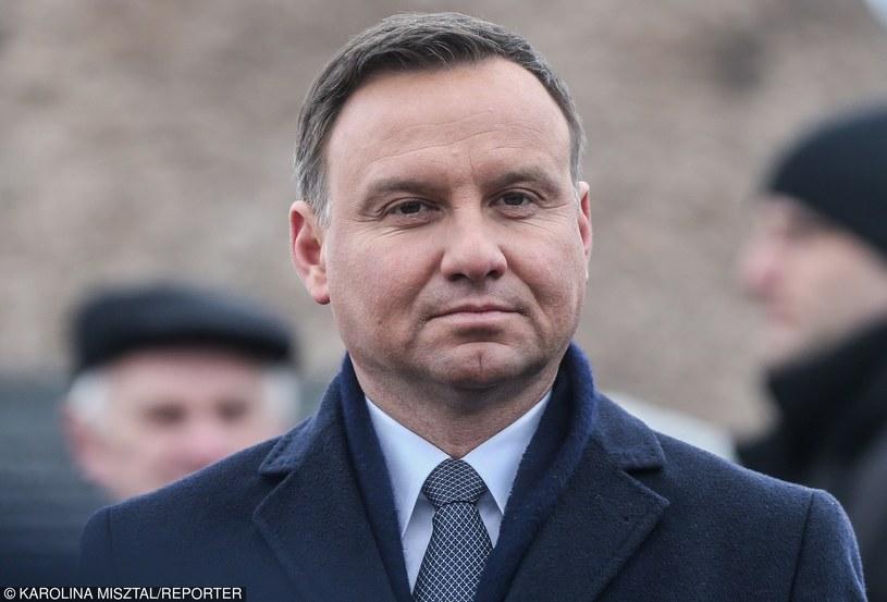 Prezydent Andrzej Duda /KAROLINA MISZTAL/REPORTER /East News