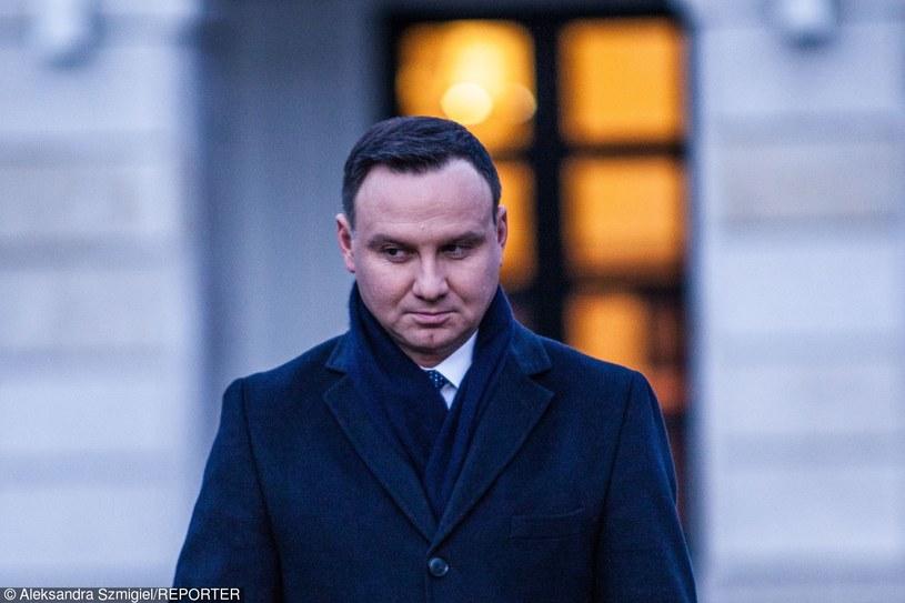 Prezydent Andrzej Duda /Aleksandra Szmigiel /Reporter