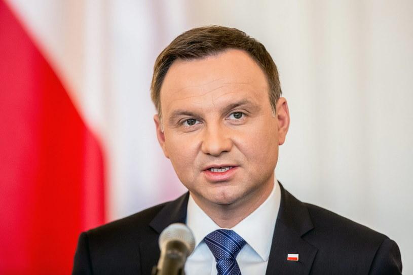 Prezydent Andrzej Duda /MATEJ DIVIZNA /PAP/EPA
