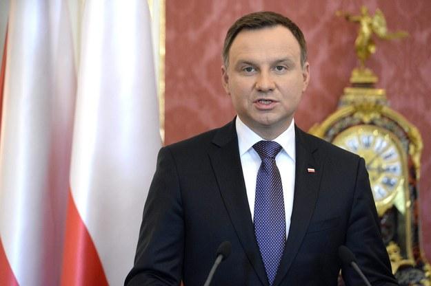 Prezydent Andrzej Duda /TAMAS KOVACS   /PAP/EPA