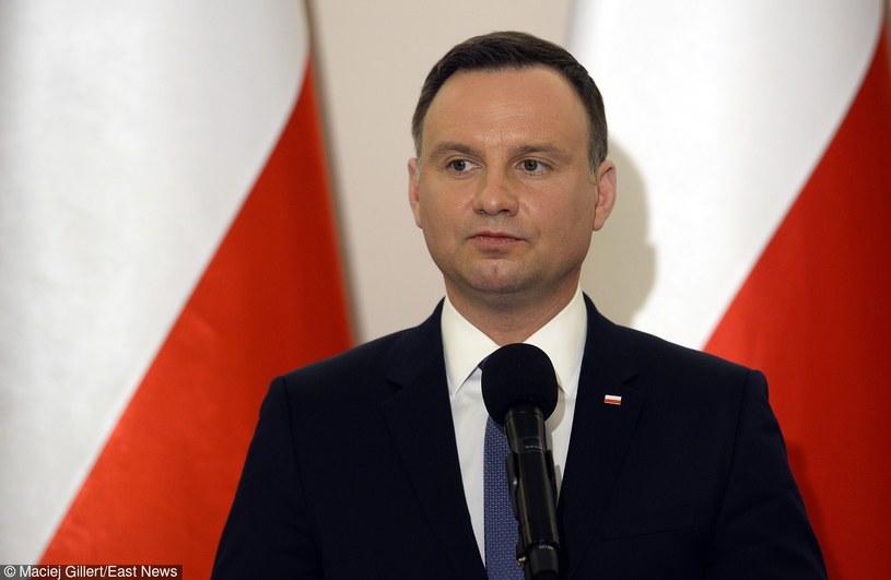 Prezydent Andrzej Duda /MACIEJ GILLERT/MEDIA PICTURES /East News