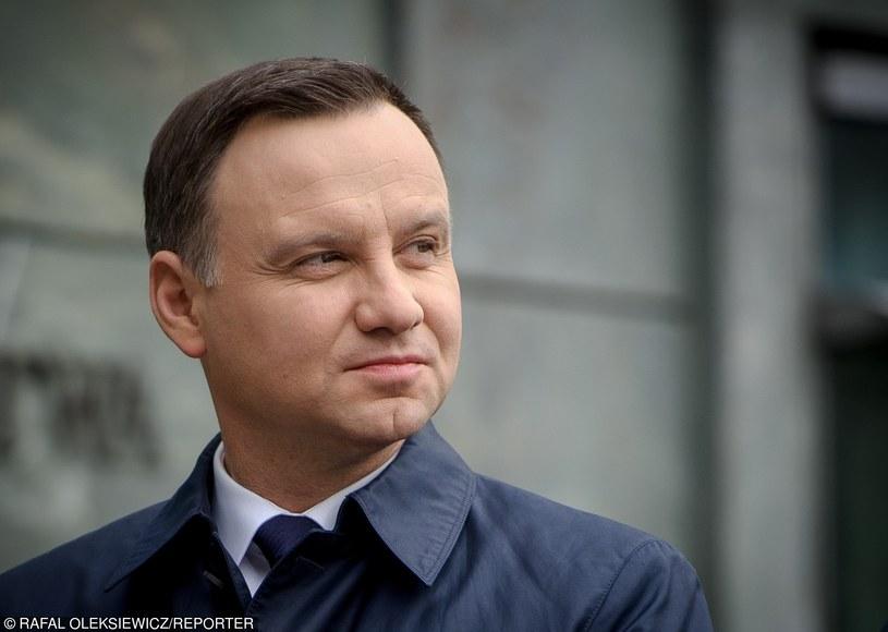 Prezydent Andrzej Duda /Rafal Oleksiewicz /PAP