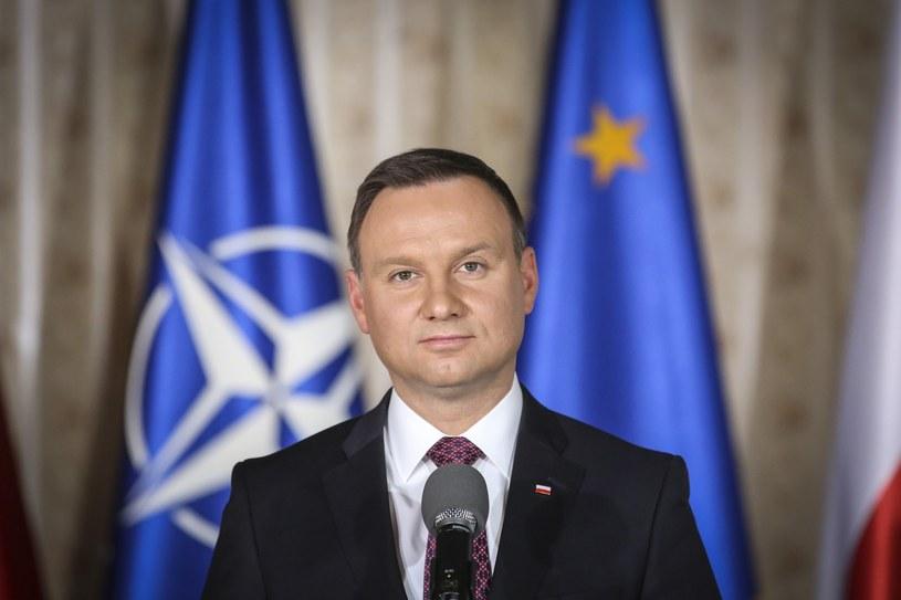 Prezydent Andrzej Duda / fot Andrzej Iwanczuk/REPORTER /East News