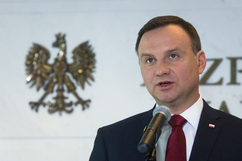 Prezydent Andrzej Duda /Andrzej Lange /East News