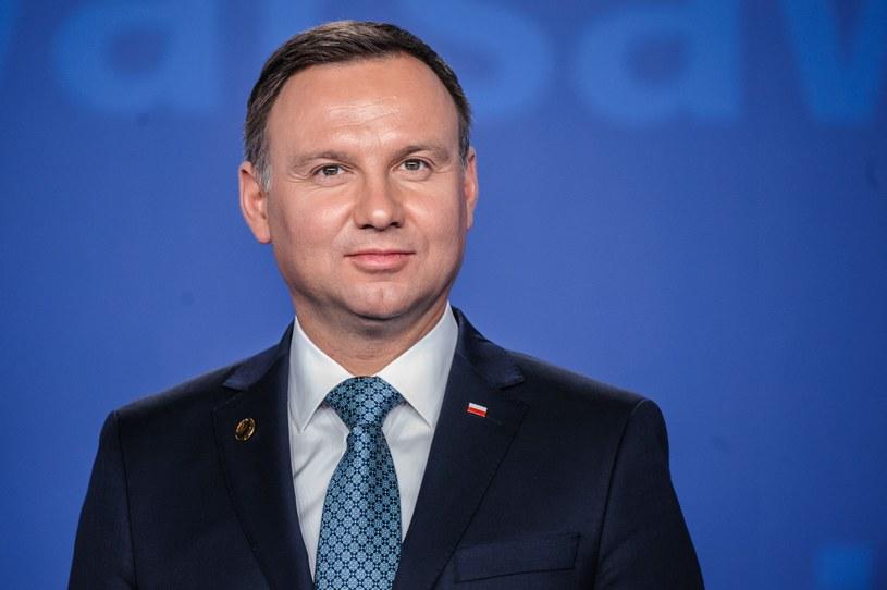 Prezydent Andrzej Duda /Tomasz Urbanek /East News