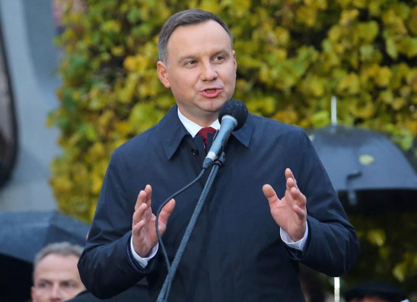 Prezydent Andrzej Duda /Tomasz Wojtasik /PAP
