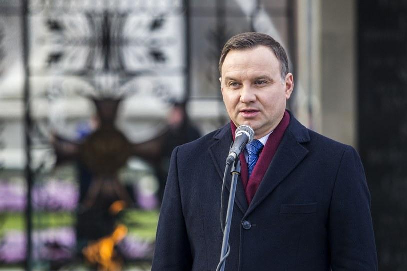 Prezydent Andrzej Duda /Wojciech Olkuśnik /East News