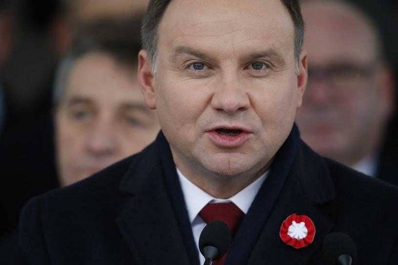 Prezydent Andrzej Duda /Andrzej Iwańczuk/Reporter /Reporter