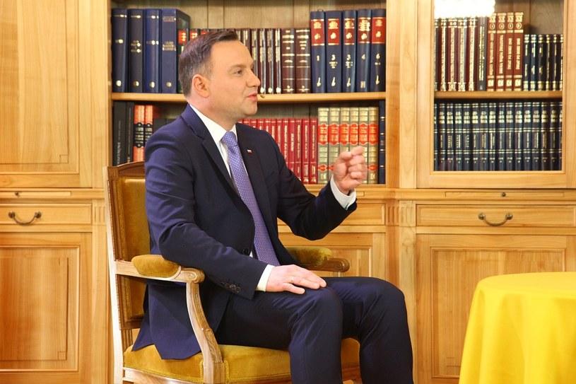 Prezydent Andrzej Duda /INTERIA.PL