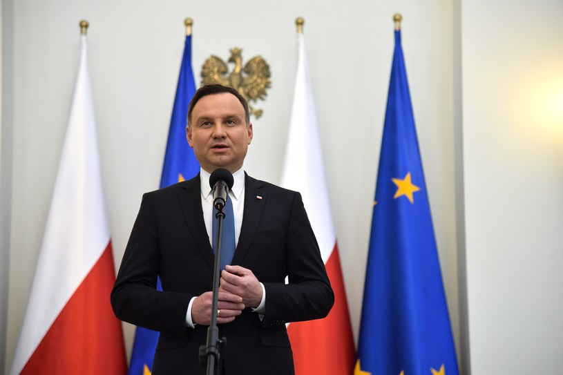 Prezydent Andrzej Duda /Mateusz Jagielski /East News