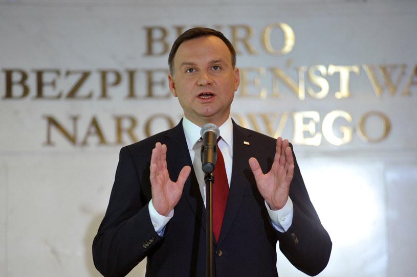 Prezydent Andrzej Duda /PIOTR SMOLINSKI / POLSKA PRESS /East News